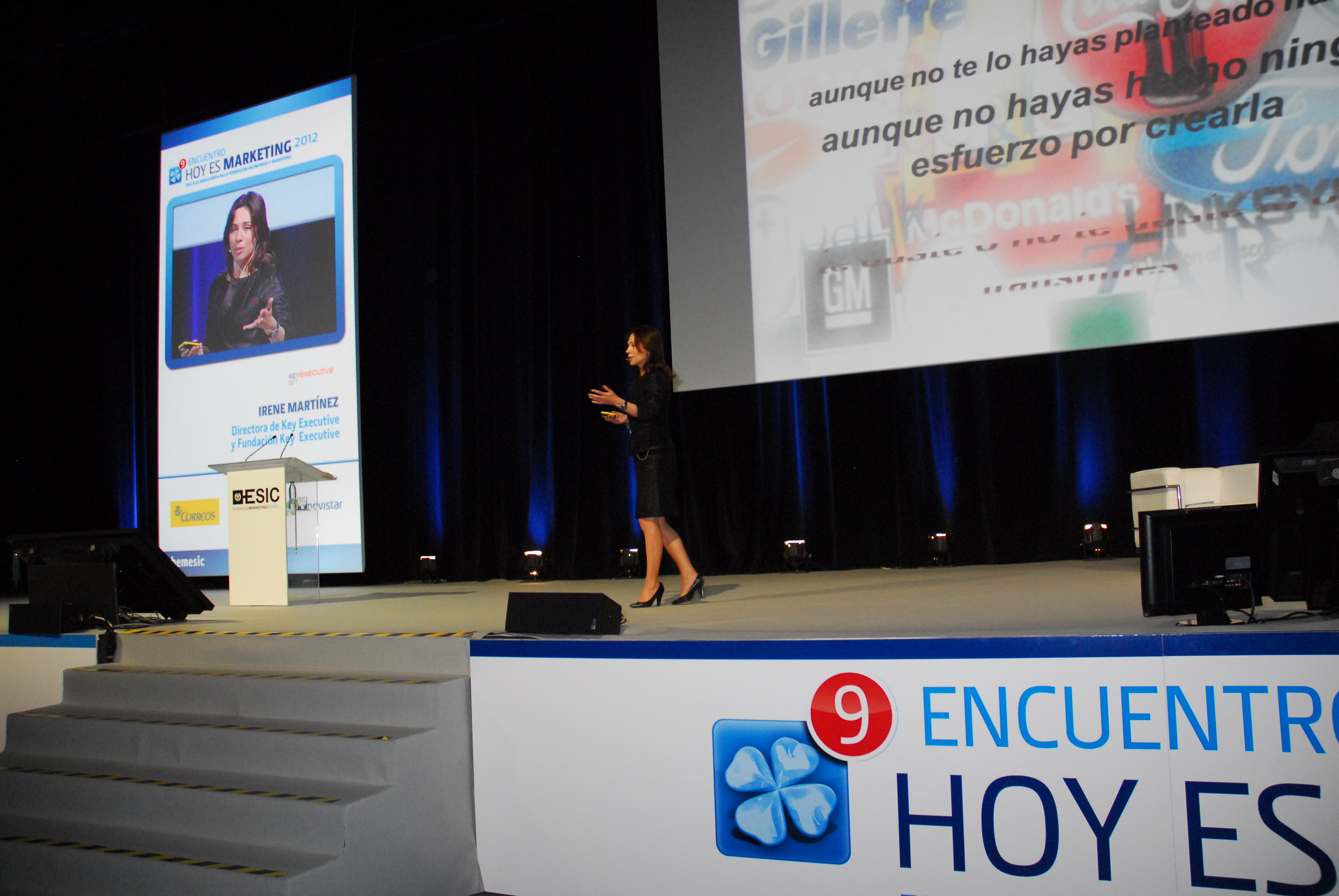 Key Executive en Hoy es Marketing Madrid 2012